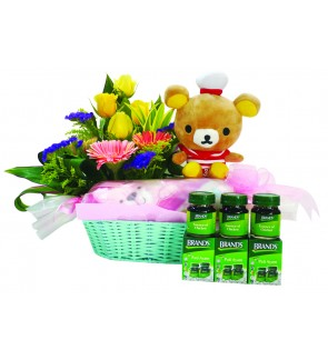 Mum & Baby Flower basket
