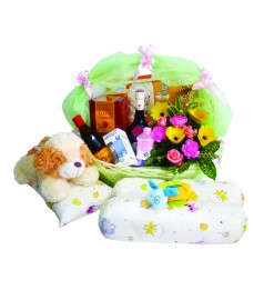 Mummy & Baby Flower and Gift Basket