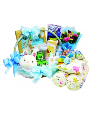 Big Mother and New Born Baby Flower & Gift set