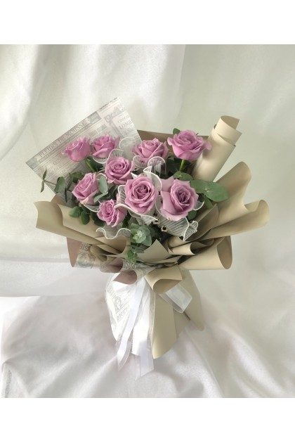 Love at First Sight Purple Roses
