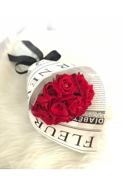 Chiara Red Roses Bouquet